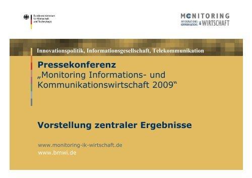 """Pressekonferenz """"Monitoring Informations- und - TNS Infratest"""
