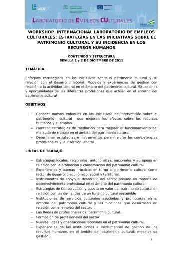 Descargar Programa en formato PDF - IAPH. Instituto Andaluz del ...