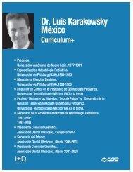 Dr. Luis Karakowsky México - COA Dental Chile