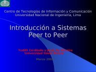 Introducción a Sistemas Peer to Peer