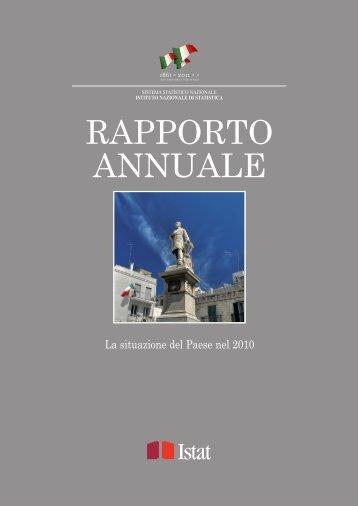 Rapporto Annuale Edizione 2011 - Istat.it