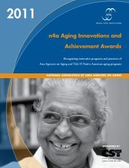 n4a Aging Innovations and Achievement Awards