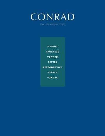 making progress toward better reproductive health for all - Conrad