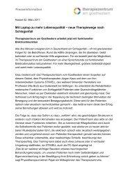 PM_Mit Laptop zu mehr Lebensqualitt - Therapiezentrum am ...