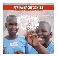AFRIKA MACHT SCHULE - Gemeinsam für Afrika