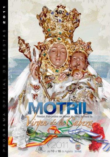 PROGRAMA OFICIAL DE FIEST AS 2011 - Ayuntamiento de Motril