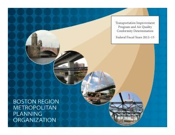 FFYs 2012-15 TIP - Boston Region MPO