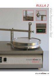 wet penetration textile test instrument (schuett-biotec)