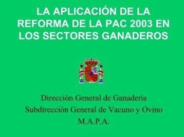 Impacto y repercusiones de la nueva reforma de la PAC en ... - Coag