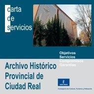 Archivo Histórico Provincial de Ciudad Real - Junta de ...