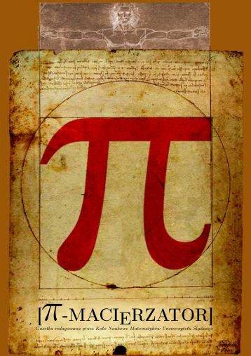 [ -MACIERZATOR] - Koło Naukowe Matematyków UŚ