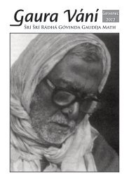 červenec 2012 - Sri Sri Radha Govinda Mandir