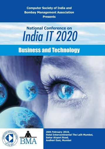 Business and Technology - Bombay Management Association