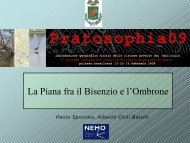 Reti ecologiche - Provincia di Prato