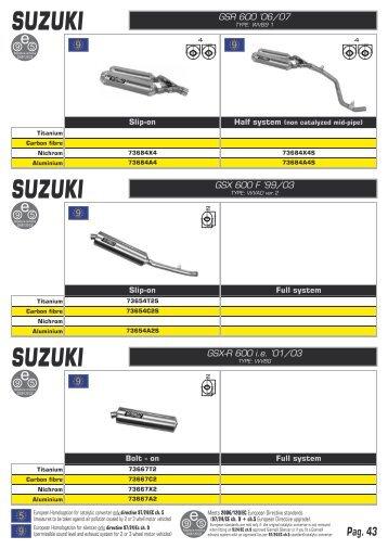 SUZUKI SUZUKI SUZUKI - Red Fox Import