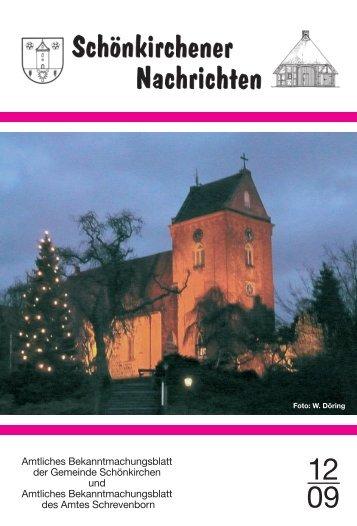 Amtliches Bekanntmachungsblatt der Gemeinde Schönkirchen und ...