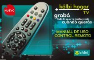 Manual del Control Remoto - Grupo ICE