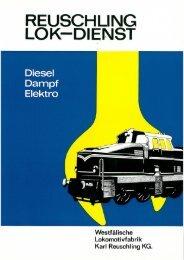 Diesel Dampf Elektro - Reuschling