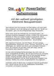 Gratis- Herstellerkataloge (Europa) - Das deutsche eBook als ...