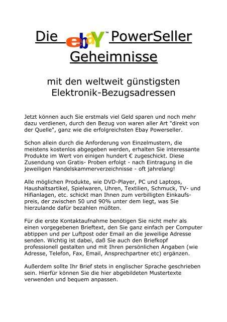 Gratis Herstellerkataloge Europa Das Deutsche Ebook Als