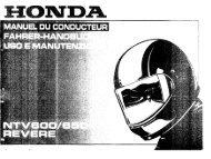 NTV600/650 - Honda