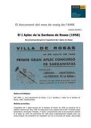 Document maig 2013 - Ajuntament de Roses