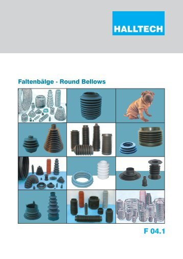 Bellows F 04.1 Catalog - Halltech