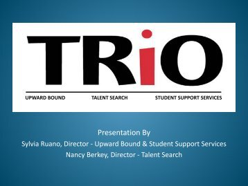 TRiO Programs - Shasta College