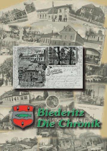 Straßenzustand und Straßenausbau in den ... - Gemeinde Biederitz