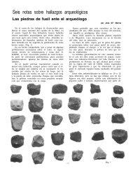 Las piedras de fusil ante el arqueólogo