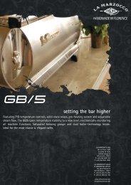 Download the GB/5 brochure - Small Batch Coffee Company