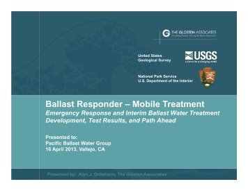 Ballast Responder – Mobile Treatment - Pacific States Marine ...