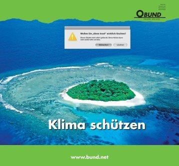 Klima schützen - BUND