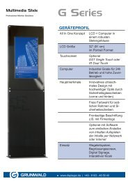 geräteprofil - Grunwald Display Solutions GmbH