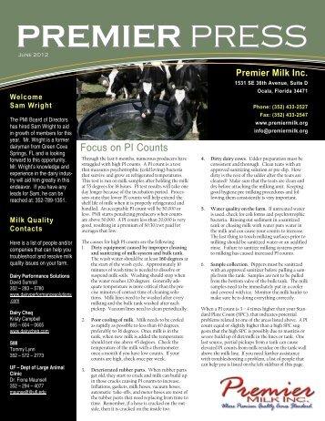 June - Premier Milk Incorporated