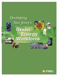 developing new jersey's green energy workforce - PSEG