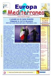 Europa & Mediterraneo n.10-12 - Comune di Alimena