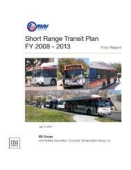 Short Range Transit Plan 2008-2013 - Omnitrans