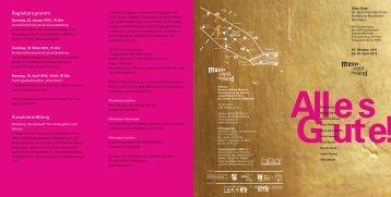 Flyer zur Ausstellung (pdf) - Frauenkulturbüro NRW