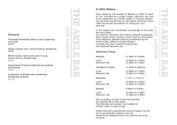 NEW TEST ABL Menu 2011 pub new (Read-Only) - The Chester ...