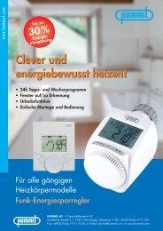 Funk-Energiesparregler - Hummel AG