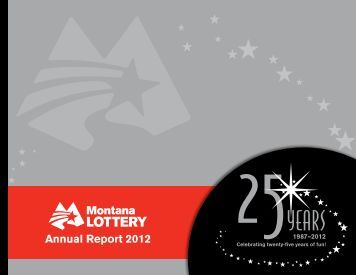 Annual Report - Montana Lottery