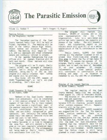 PE1309 Sep 1985.pdf - The Parasitic Emission