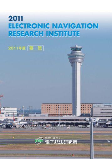 2011 RESEARCH INSTITUTE ELECTRONIC NAVIGATION ... - ENRI