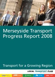 Annual Progress Report 2007/08 - the TravelWise Merseyside website