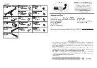 Anhängekupplung Katalog nr X13A = D [kN] PPUH AUTO-HAK Sp.J.