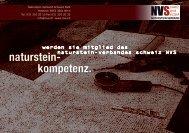 download PDF - Naturstein-Verband Schweiz (NVS)