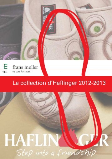 La collection d'Haflinger 2012-2013 - Frans Muller