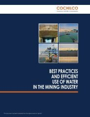 best practices and efficient use of water in the mining industry cochilco