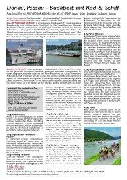 Donau, Passau - Budapest mit Rad & Schiff - RadelReisen WILKE ...